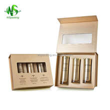 Factory direct hard board eye cream kit packing box with good service