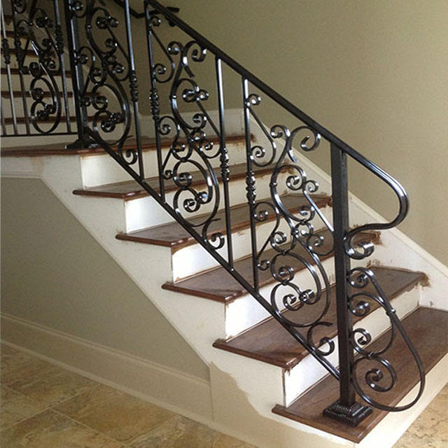 Stair Railing Design Wrought Iron Spiral Stairway Iron Craft Stair Railings Gorgeous Design High Quality Wrought Iron Outdoor St