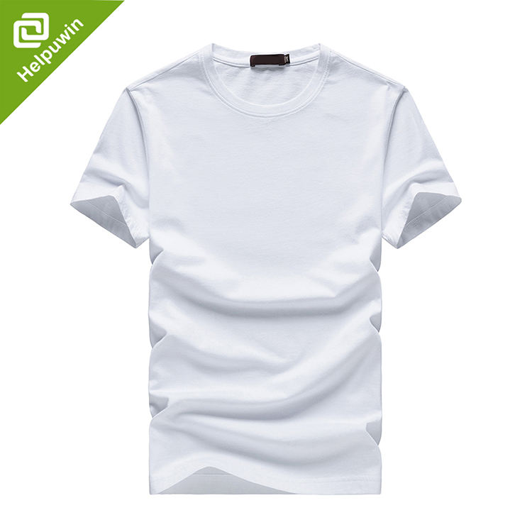 Custom 3d printing sublimation hip hop White men cotton cheap t-shirt embroidery logo sports tee shirt high quality