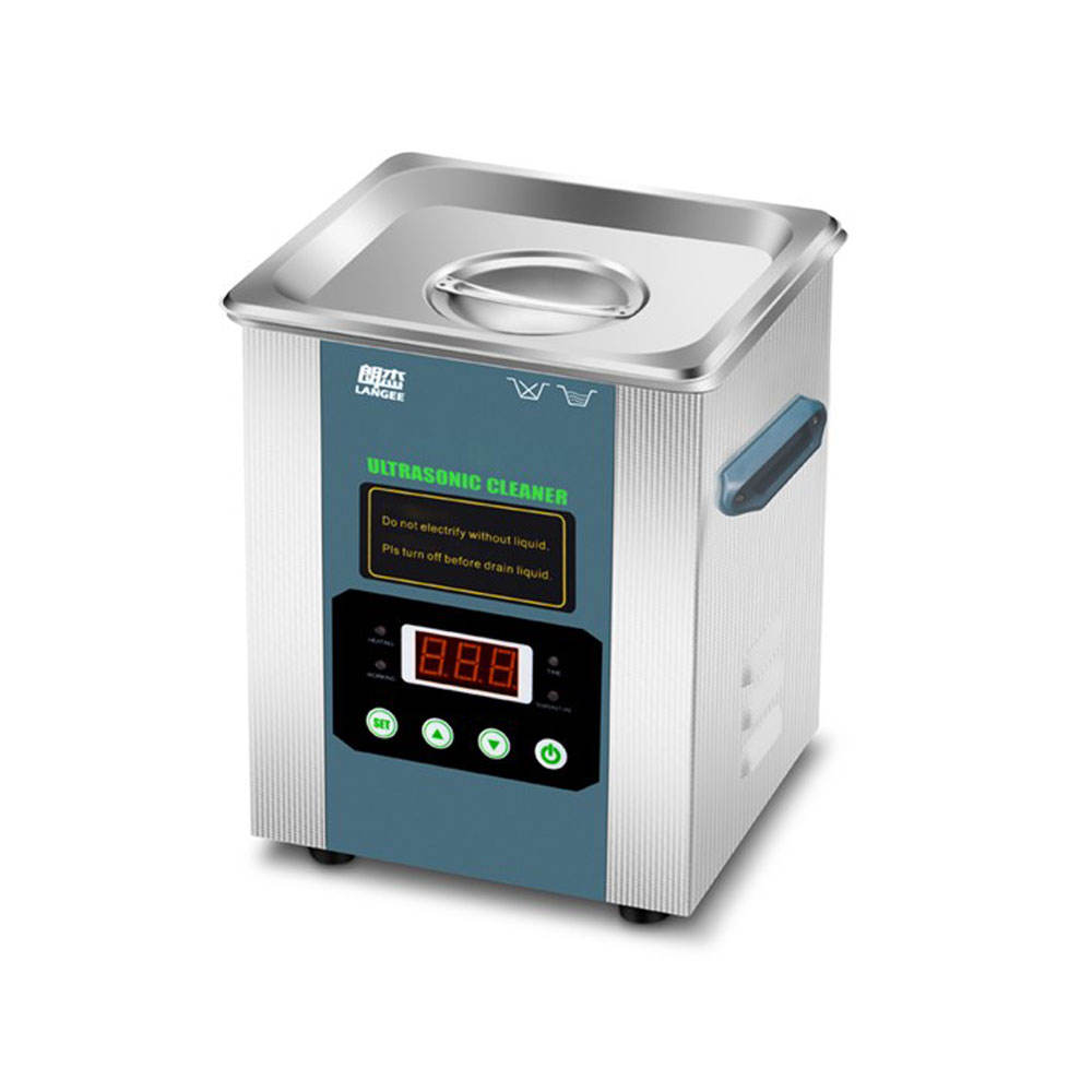 Digital Ultrasonic Cleaner Gioielli 2000 mL 42 KHz Sonic Occhiali Cleaner con Timer Digitale Cestino