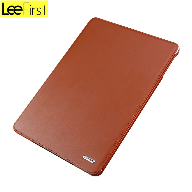 New Products Real Leather Case for Ipad Pro Shockproof Tablet Cover