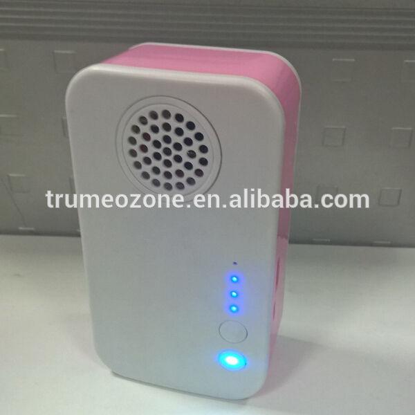 2015 yeni tasarım ürün mobil <span class=keywords><strong>güç</strong></span> banka hava temizleyici ozonizer Ionizer