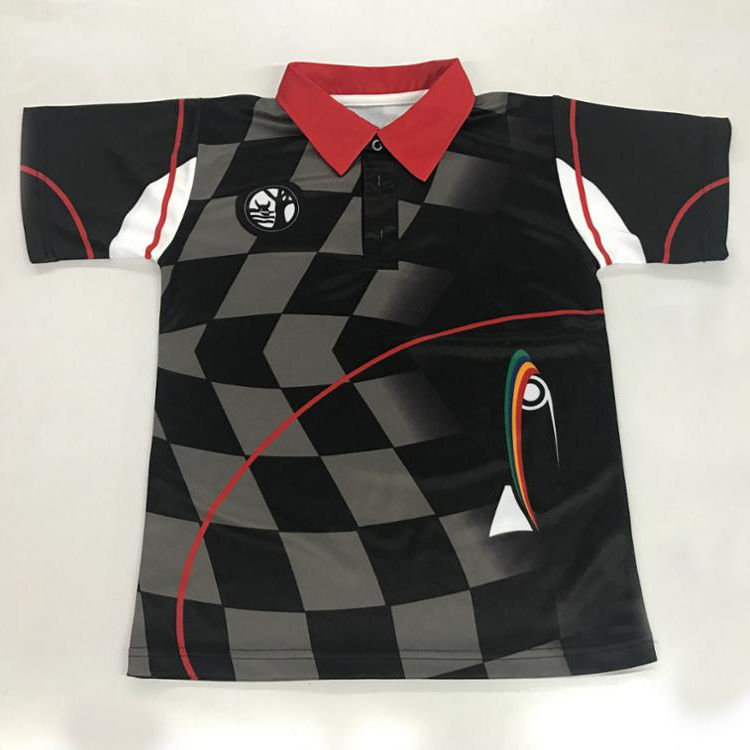 POLO custom T shirt printing,sublimate t shirt made in China