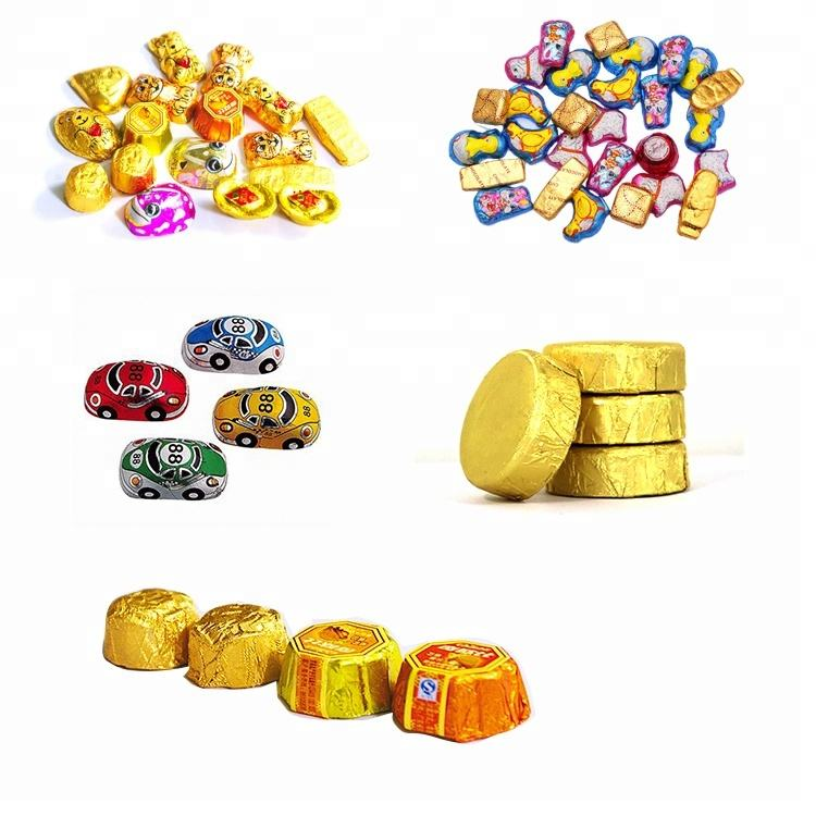 China Chocolate Foil Wrapping Machine China Chocolate Foil