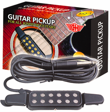 KQ-3 Pickup Guitar Acoustic, Alnico Magnets For Guitar Pickup Supplies