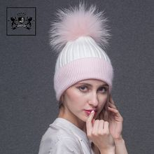 Knitted Style Adult / Kids / Baby Size pompom beanie womans winter hats