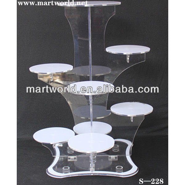 2020 New design & hot sale Cinderella carriage cake stand cake stand fittings for wedding decorations cake decorations (S-228)