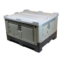1200*1000*760mm heavy duty  storage   plastic pallet box for sale