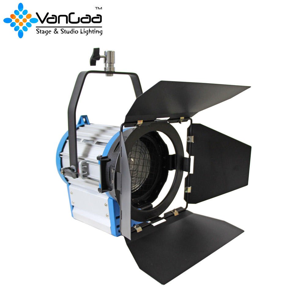 Fresnel Film Spot Light Warm White Fresnel 2000W Fresnel Spot Lights For TV Studios Shooting
