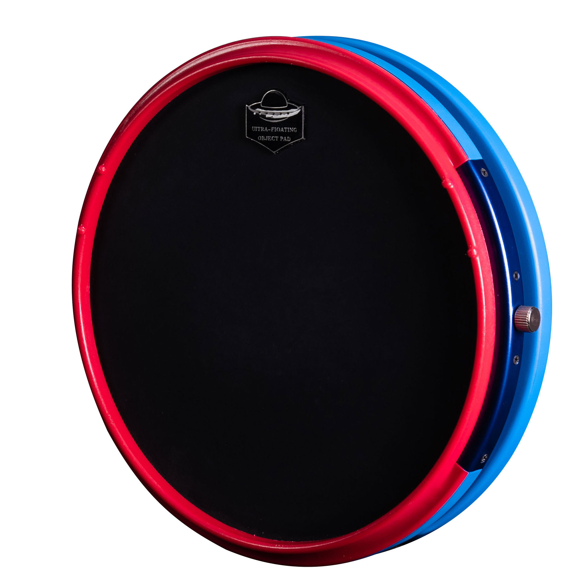 High quality HUN Round 12 inch Black Snare Marching drum practice pad