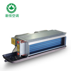 horizontal concealed fan coil unit FCU/ water ducted fan coil FCU