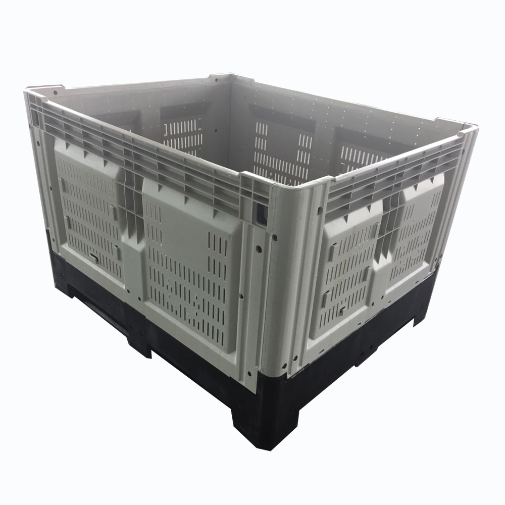 Australia warehouse agriculture plastic collapsible bins for fruit