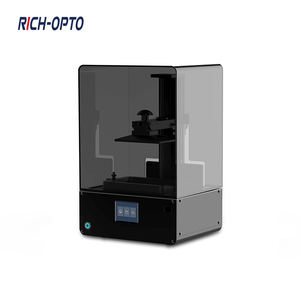 Free Machine Promotion 2nd Generation UV Photosensitive Resin Type 405nm Light-curing 2K LCD Printer 3D for Desktop DIY