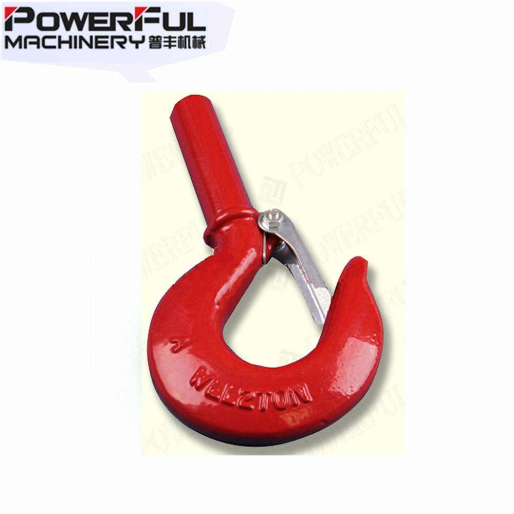 U.S Type S-319 Shank Forged Crane Lifting Hook Manufacture China