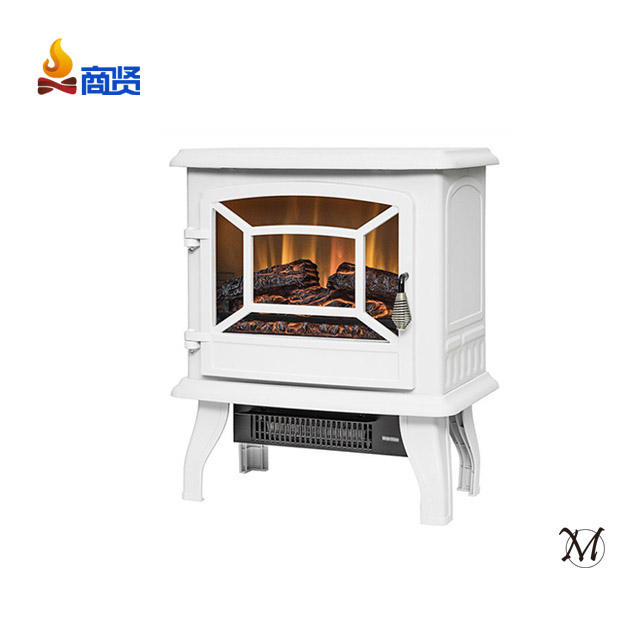 Sunshine 17 inch White CSA CE Electric Fireplace Stove