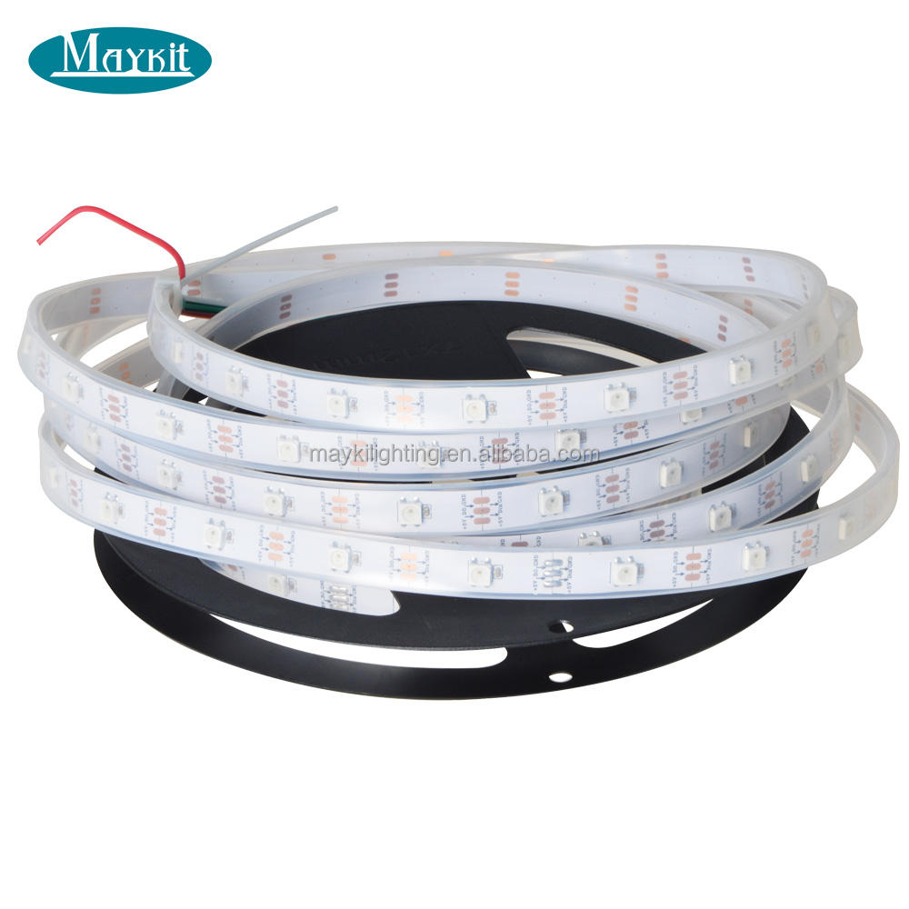 IP67 5V WS2812B LED Strip RGB Smart Pixel Strip