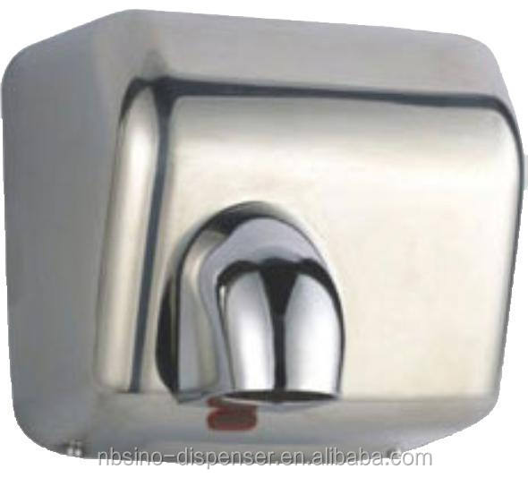 2300W high speed hand dryer with polished ,brushed and white cover