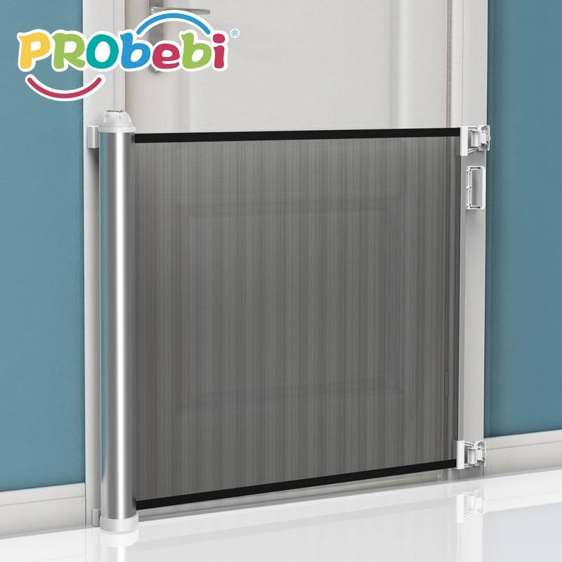 Amazon hot baby folding stainless steel tube baby safety gate