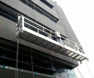 Customized Aluminum / Steel Suspended Working Platform Hanging Scaffold Systems