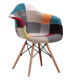 Cheap Modern Comfortable Living Room Furniture Armchair / Patchwork Fabric Leisure Chair