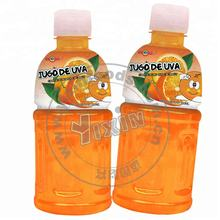 Pet Bottle Packed Orange Coconut Juice With 25% Pulp