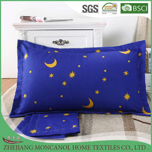 cotton printed pillow cover popular pillow case