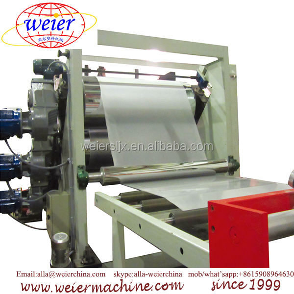 PP PE sheet extrusion line PP list making machine HDPE sheet production extruder