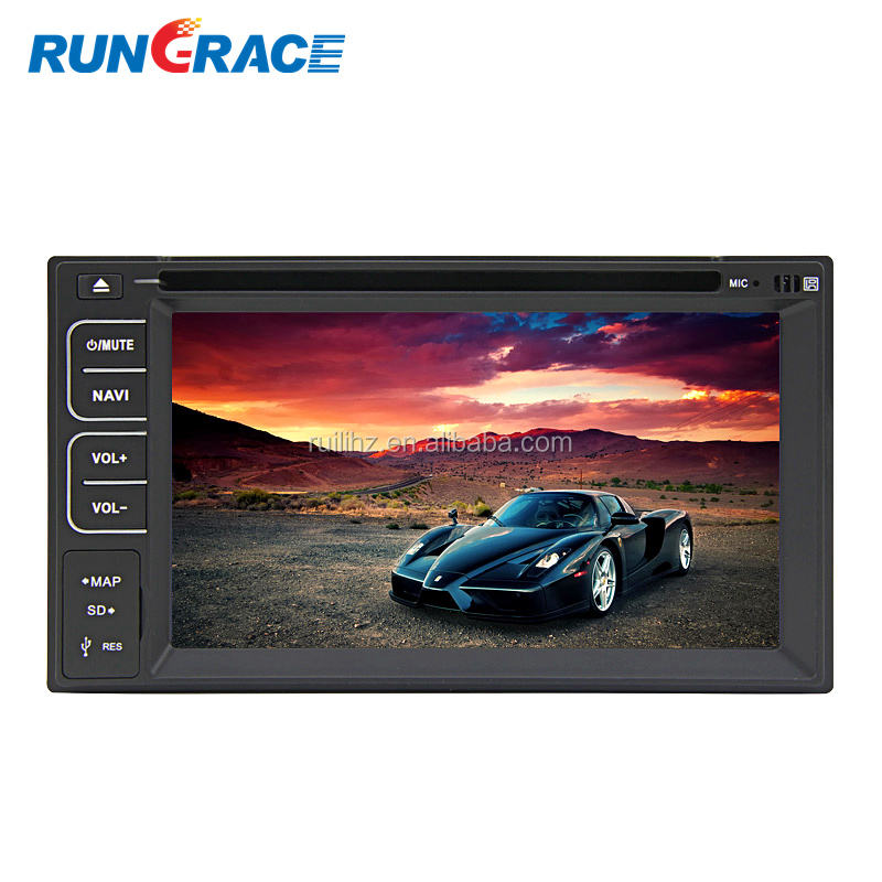 Rungrace Android 8.1 Mobil Hiburan 6.2 Inch 2 DIN Kualitas Universal Mobil Dvd Player dengan Bluetooth/WIFI/RDS