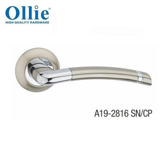 Morden door set zinc alloy lever handle set
