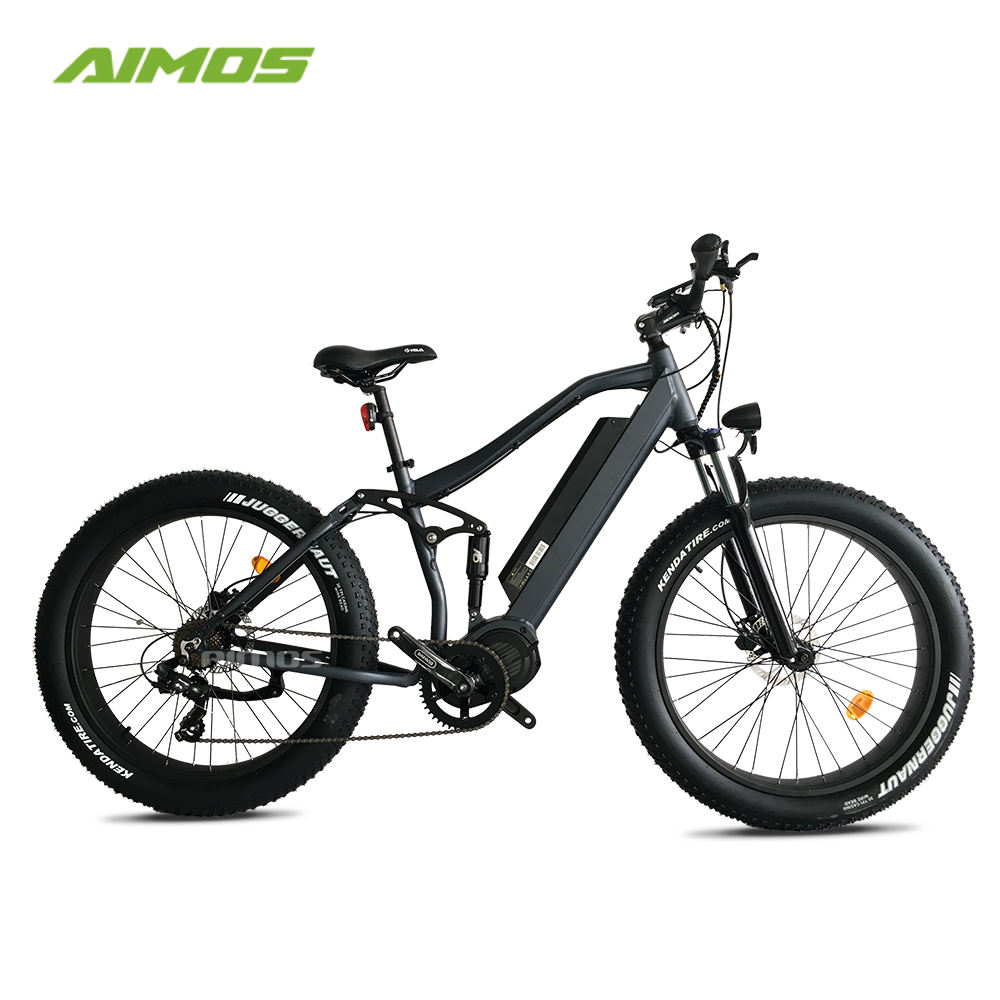 Top selling BAFANG 1000W mid drive motor mountain e bicycle fat tire electric bike for beach cruiser in high speed