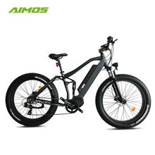 Top selling 8Fun 1000W mid drive motor mountain e bicycle fat tire electric bike for beach cruiser in high speed