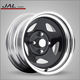 2018 Star Style Black Chrome Steel 4x4 Rim Wheel for Car with DOT Certificate