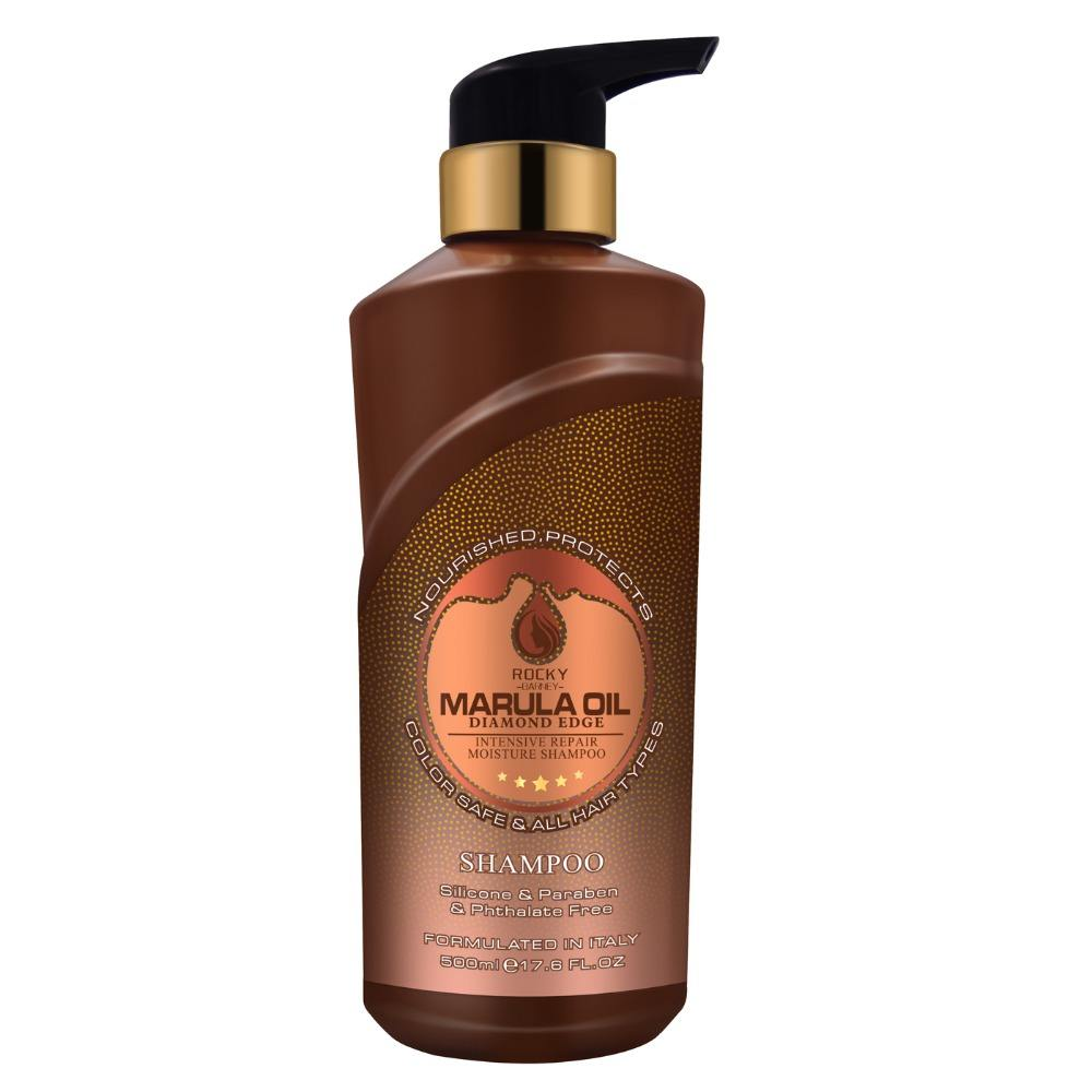 OEM/ODM wholesale best mild hair shampoo sulphate free Best Natural Marula Oil Shampoo