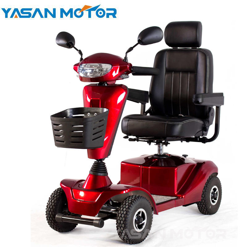 Powerful disabled portable scooters 4 wheel electric golf cart for sale