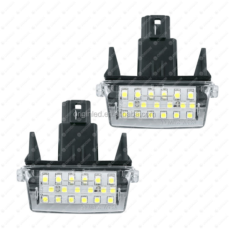 Wireless battery powered led lamp for TOYOTA CAMRY 2012 YARIS 2010-2011 License Plate Light OEM 81270-0D120