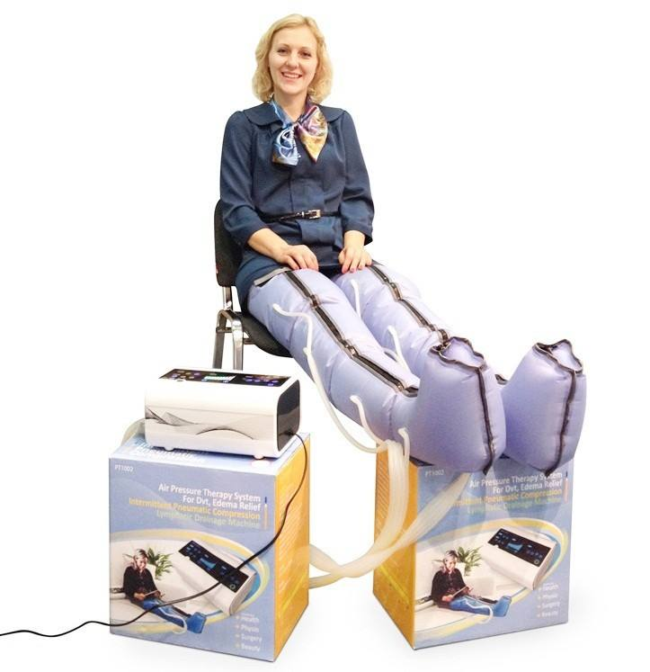 Elderly care products body massage machine for old man use walking stick