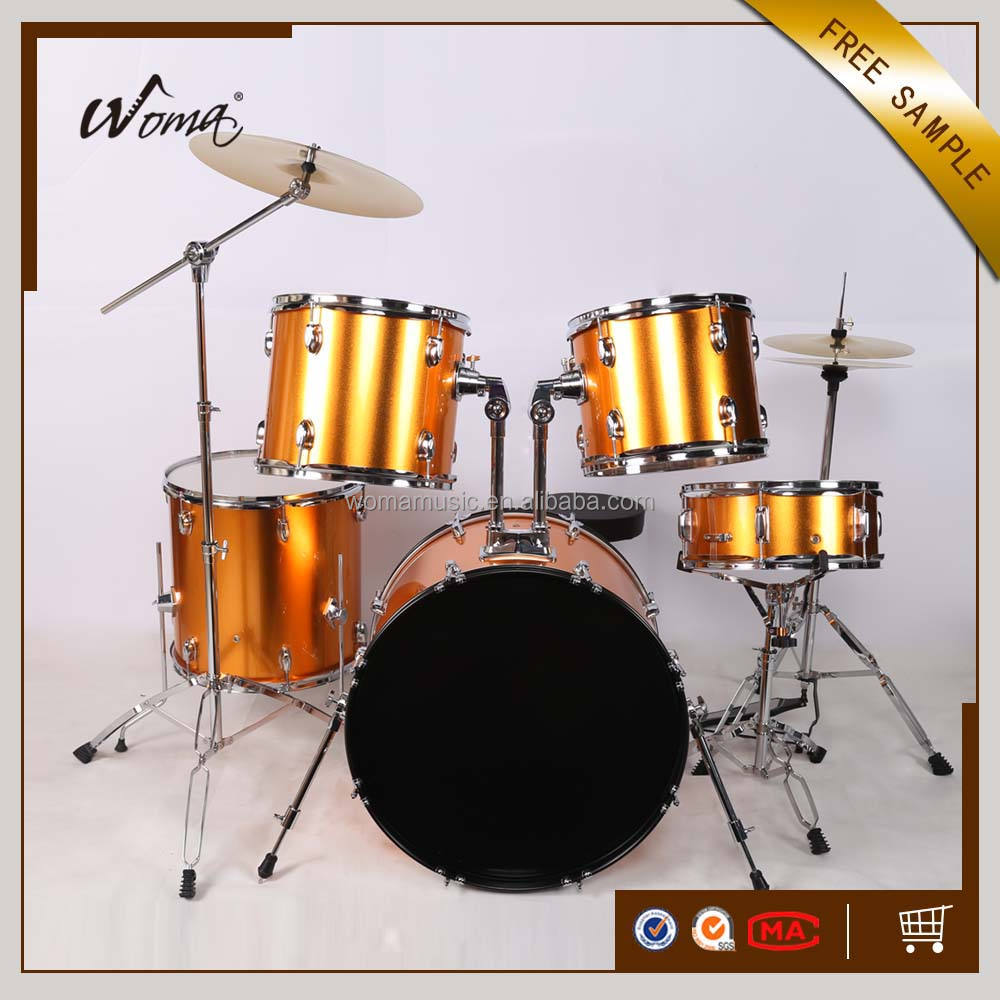 2017 New Professional 5PCS PVC Drum Kit With Cheapest Price