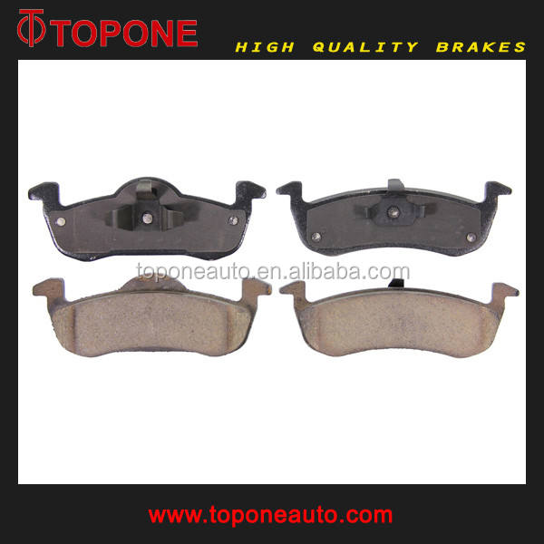 Voor FORD TRUCK/Lincoln Brake Pad Auto Onderdelen Fabrikant 7L1Z2200A 7L1Z2200B