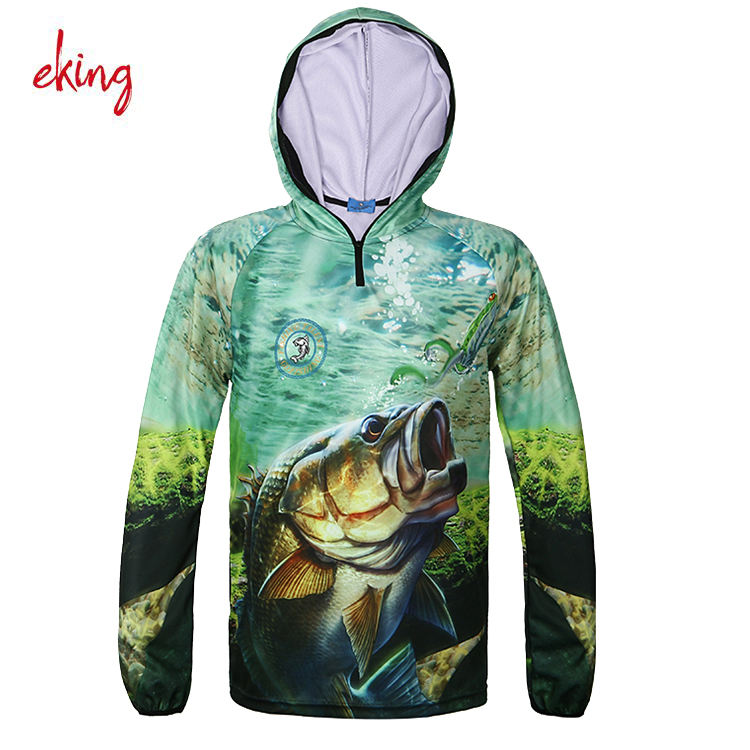 2017 Men Fishing Clothes New Summer UV Protect Moisture Wicking Quick-drying Breathable Fishing Outdoor Sports Shirt