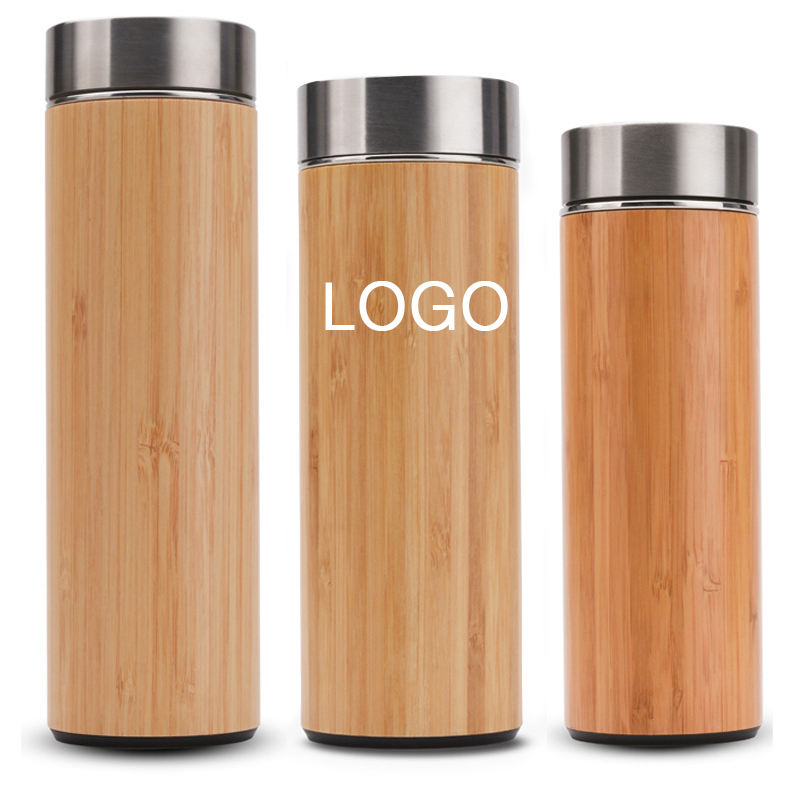 Professional Factory Produce Tea Mesh Filter Coffee Tea Water Bottle Bamboo Cap