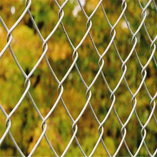 High Security Decorative Chain Link Fence For Sale