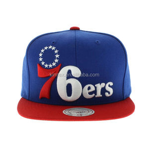 Wholesale Good Quality Custom Hip Pop 6 Panels Cotton Embroidery Snapback Cap