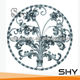China Handmade Wrought Iron C Scroll and S Scroll with Elegant Appearance