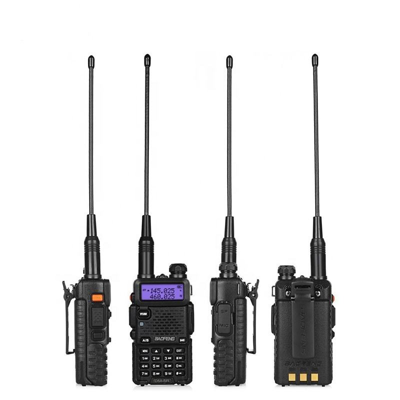 Baofeng DM-5R DMR Transceiver Dual Band Ham Radio <span class=keywords><strong>VHF</strong></span> UHF Digitale Walkie Talkie