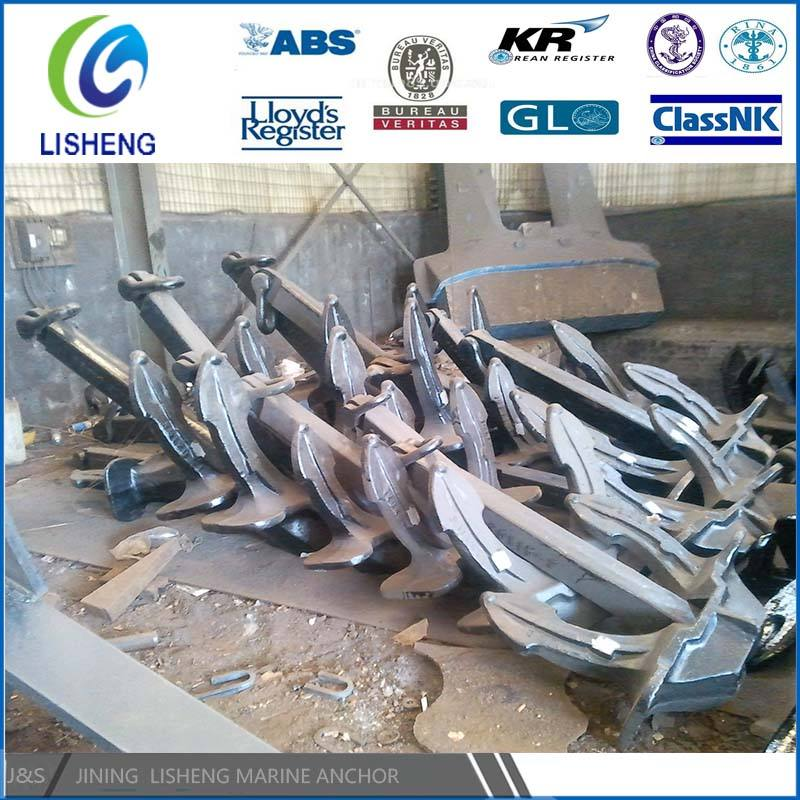 Factory Manufacturer Marine Hardware Ship Anchor