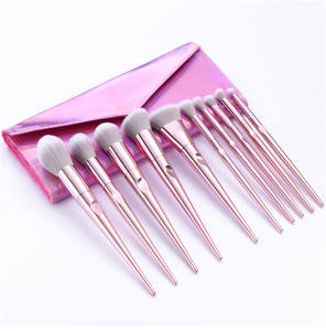 Private Label Cosmetic Make up Brushes 10PCS Creative Thumb Vegan Makeup Tools Brush Set Quality