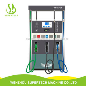Sell 2 display 6 nozzle gasoline fuel dispenser for gas station fuel dispenser display