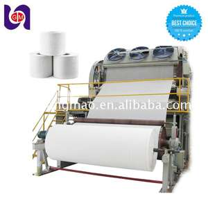 small toilet paper production machinery waste paper recycling machine price