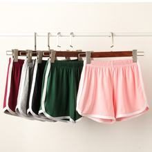 Hot Summer Street Casual Women Short Pants Women All match Loose Solid Soft Cotton Casual Female Stretch Shorts