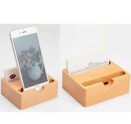 Hot selling wooden bamboo tablet cell phone stand